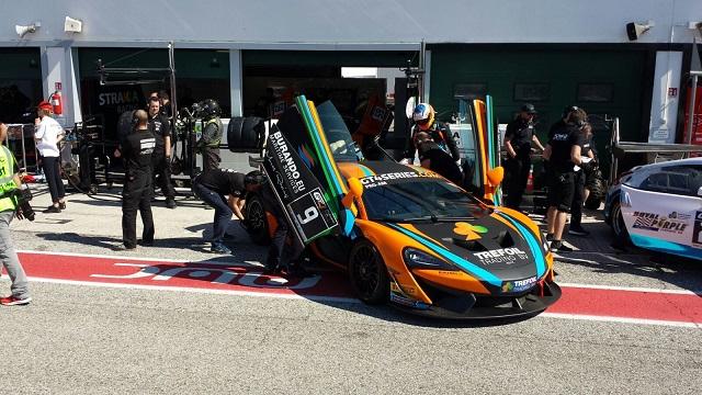 McLaren 570S GT4 - Misano 2017